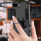 Armor Magnetic Holder iPhone Case