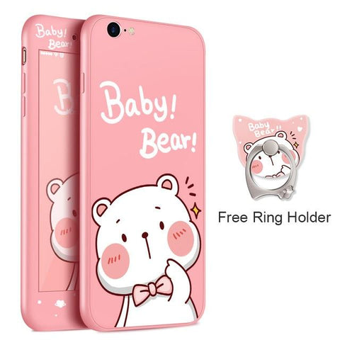 Baby Bear Pink iPhone Case