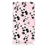 Cute Animal Wallet iPhone Case