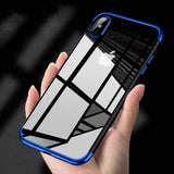 Electroplated Clear Cover iPhone Case