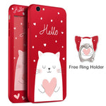 Hello Cat Red iPhone Case