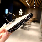 Magnetic Ring Car Holder iPhone Case