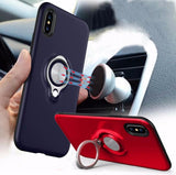 Magnetic Ring Holder iPhone Case