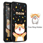 Meow Black iPhone Case