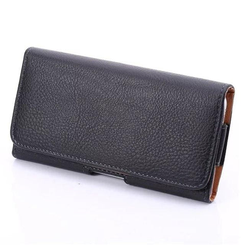 Pouch Belt Clip Leather iPhone Case