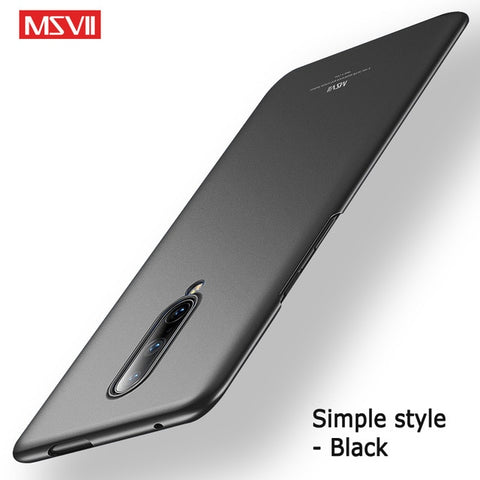 Slim Frosted Hard PC Cover Case For OnePlus 6 / 7 / Pro