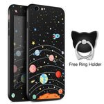 Solar System Black iPhone Case