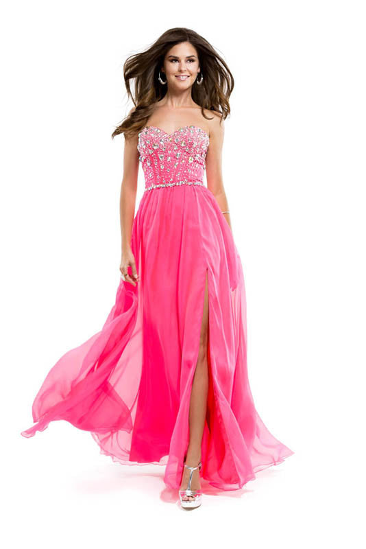 Flirt - Maggie Sottero, P5830, 6, ELECPINK, prom dress, calgary grad dress, edmonton grad dress