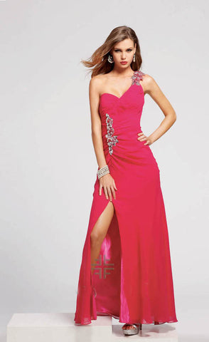 Faviana, 6550, 4, CRANBERR, prom dress, calgary grad dress, edmonton grad dress