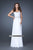 La Femme, 18325, 14, WHITE, prom dress, calgary grad dress, edmonton grad dress