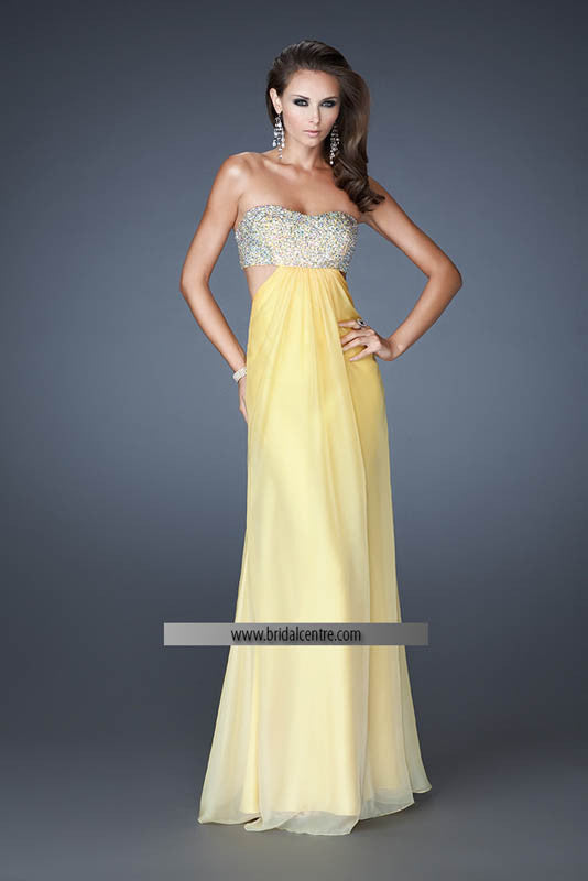 La Femme, 18429, 2, YELLOW, prom dress, calgary grad dress, edmonton grad dress