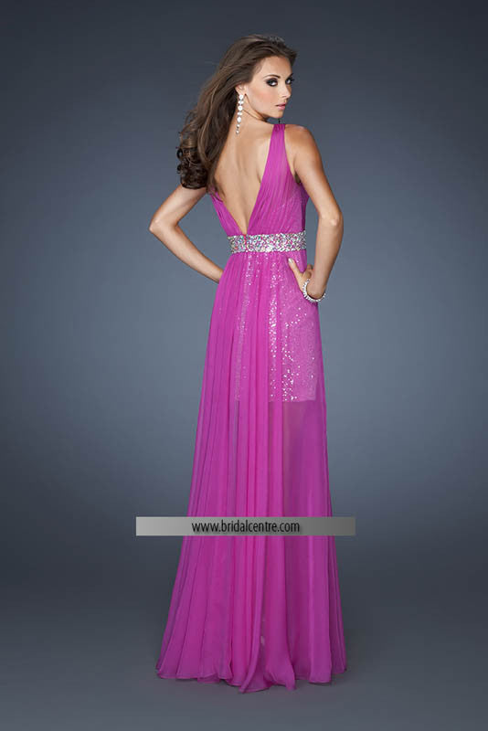La Femme, 18865, 8, MAGENTA, prom dress, calgary grad dress, edmonton grad dress