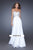La Femme, 19321, 8, WHITE, prom dress, calgary grad dress, edmonton grad dress