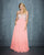 Night Moves - Sheer Illusions, 7120W, 20W, CORAL, prom dress, calgary grad dress, edmonton grad dress