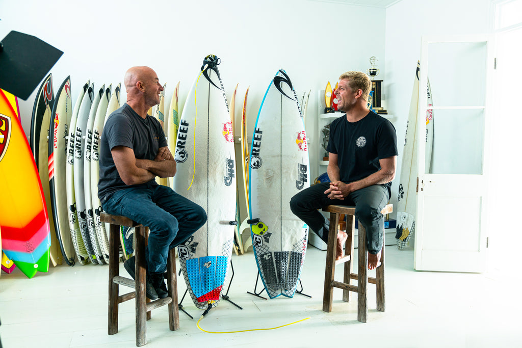 Darren and Mick Fanning DHD Board Story