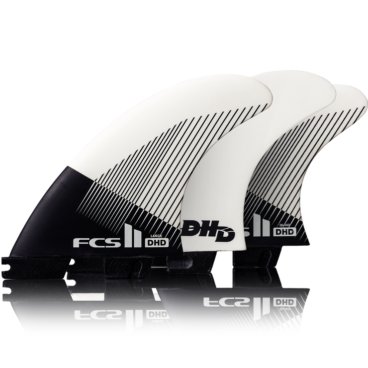FCS II DHD PC Fin - Quad Fin Set