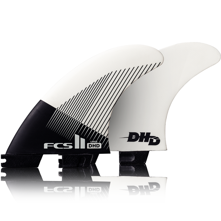 FCS II DHD PC Fin - LARGE (75kg - 90kg) Tri Fin Set