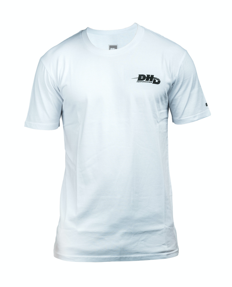 DHD Performance Surfboards T-shirt WHITE/Black