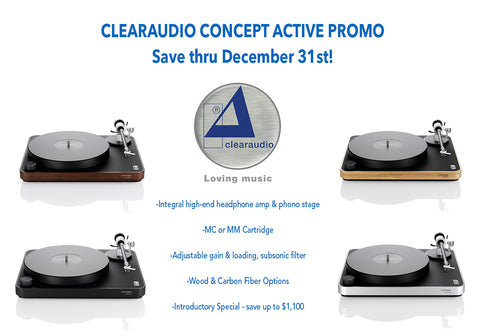 Clearaudio Promo | Concept Active Turntable 2020