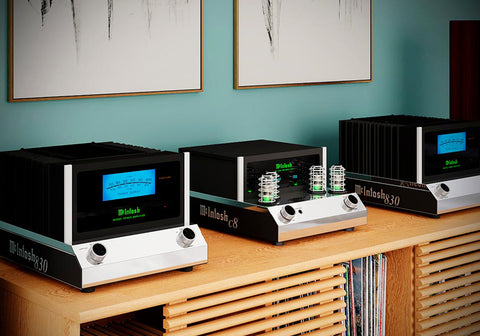 McIntosh Announces the MC830 Mono Amplifier & C8 Vacuum Tube Preamplifier