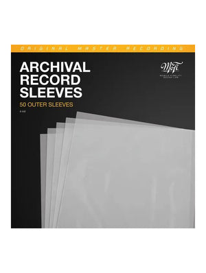 MoFi Archival Record Sleeves | Turntables | Paragon Sight & Sound