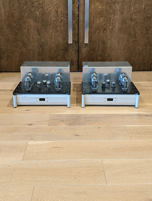 Doshi Audio V3.0 Jhor Monoblock Amplifier Pair, Silver Finish