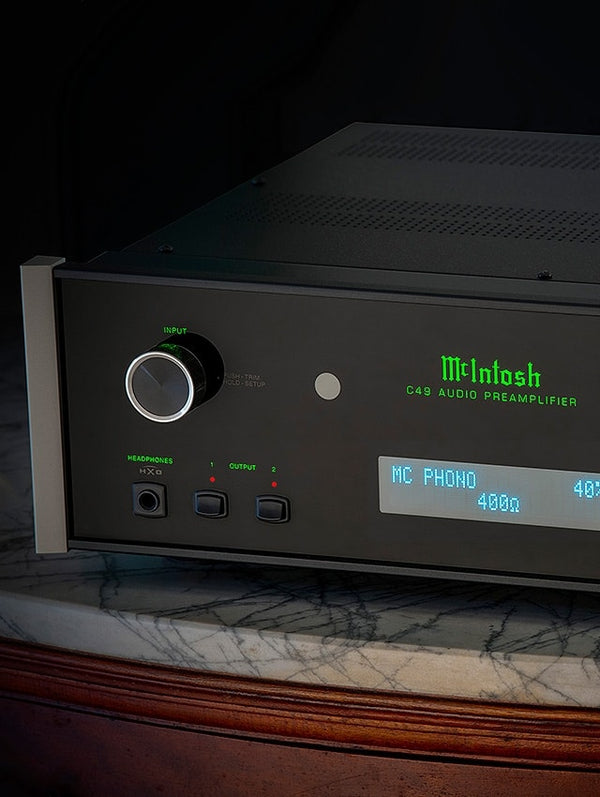 McIntosh C49 Stereo Preamplifier