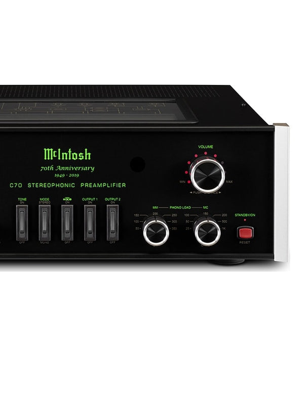 McIntosh C70 Stereo Preamplifier