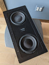 "Sunfire HRS In-Wall 8"" Dual Active Subwoofer, Single"