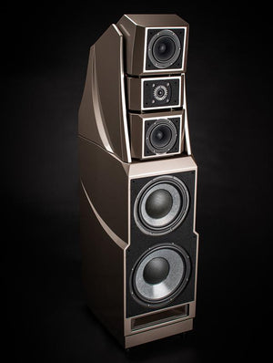 Wilson Audio Alexandria XLF Loudspeaker Pair, Obsidian Black, Certified Authentic