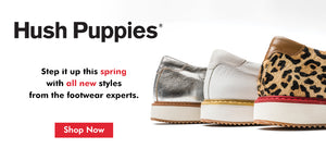 Hush Puppies new styles for this spring