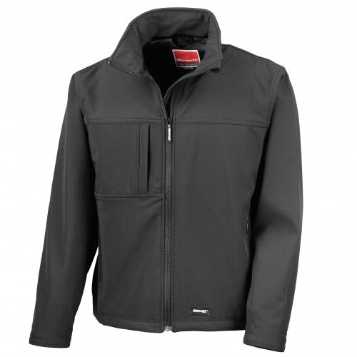 Front - Result Mens Softshell Premium 3 Layer Performance Jacket (Waterproof, Windproof & Breathable)