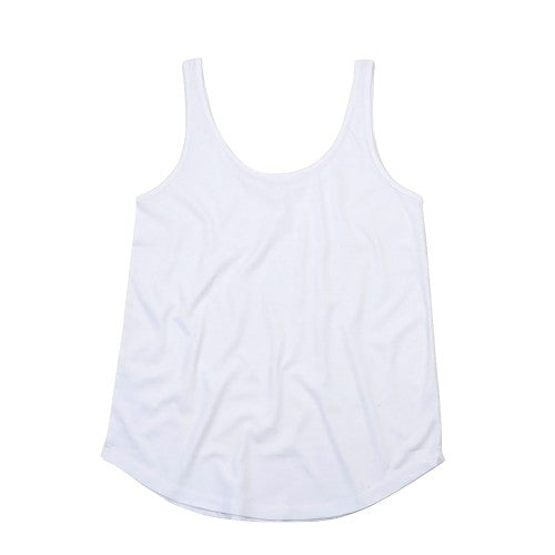 Front - Mantis Womens/Ladies Loose Fit Sleeveless Vest Top