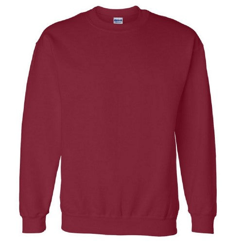 Front - Gildan DryBlend Adult Set-In Crew Neck Sweatshirt (13 Colours)