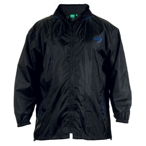 Front - Duke Mens Zac Kingsize D555 Packaway Weather Proof Rain Jacket