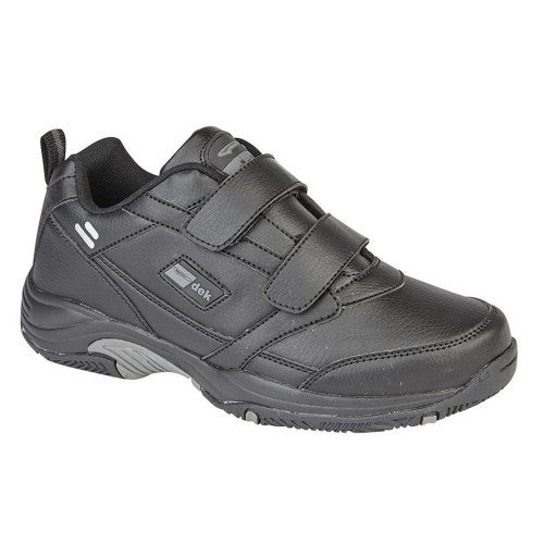Front - Dek Mens Ohio Leather Trainers