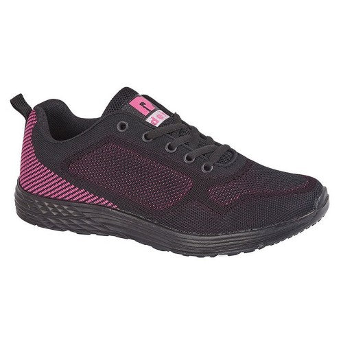 Front - Dek Womens/Ladies Fox Superlight 5 Eye Lace Trainer
