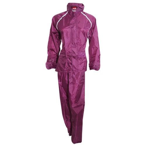 Front - ProClimate Ladies Waterproof Rain Suit (Trousers And Jacket Set)