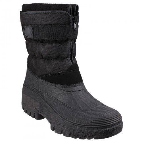 Front - Cotswold Mens Chase Snow Boots