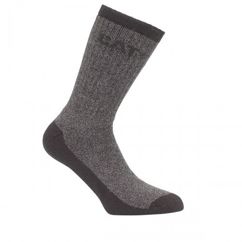 Front - Caterpillar Thermal Mens Work Socks (Pack Of 2)