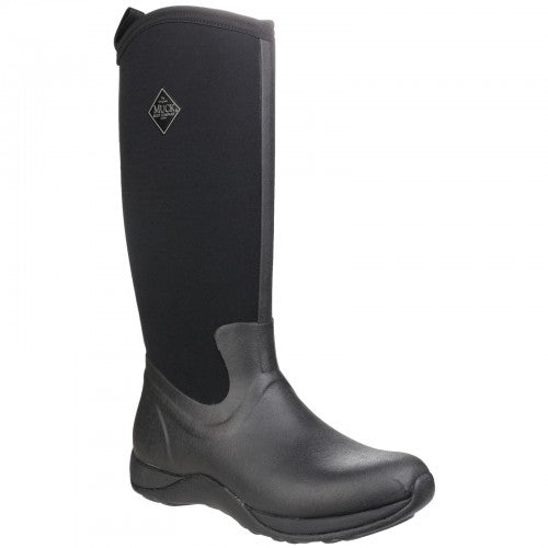 Front - Muck Boots Unisex Arctic Adventure Pull On Wellington Boots