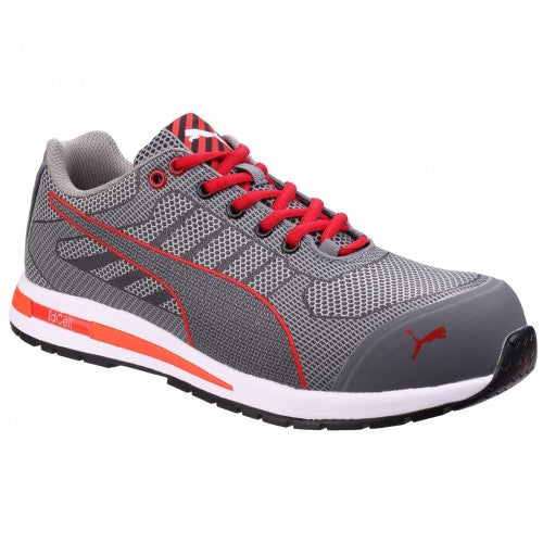 Front - Puma Mens Xelerate Knit Low Safety Trainers