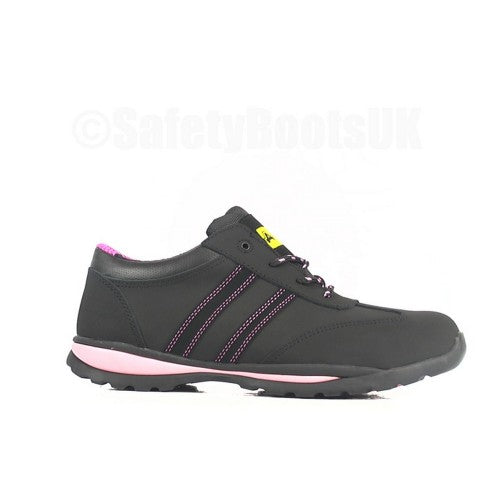 Front - Amblers Steel FS47 S1-P Trainer / Womens Shoes / Safety Shoes