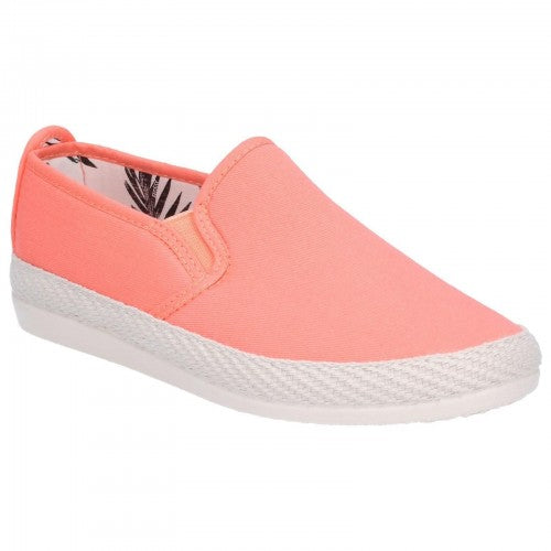 Front - Flossy Womens/Ladies Orla Espadrille Slip On Shoe