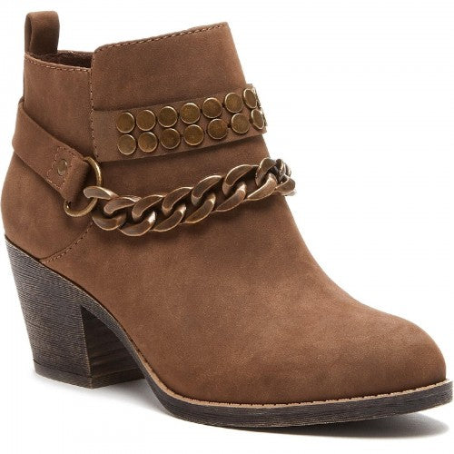 Front - Rocket Dog Womens/Ladies Shelinda Pablo Ankle Western Boot