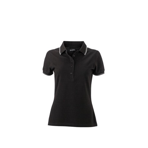 Front - James and Nicholson Womens/Ladies Polo