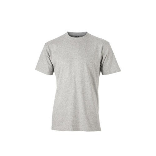 Front - James and Nicholson Unisex Heavy Round Tee