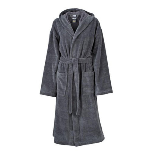 Front - Myrtle Beach Adults Unisex Functional Hooded Bath Robe