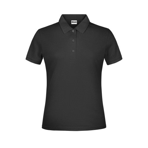 Front - James And Nicholson Womens/Ladies Basic Polo Shirt