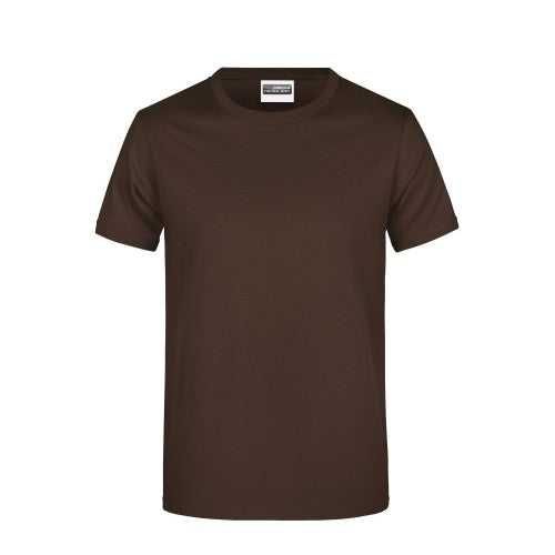 Front - James And Nicholson Mens Basic T-Shirt